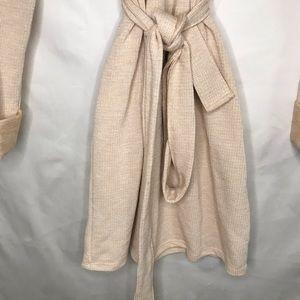 ASOS Dresses - ASOS DESIGN cowl neck belted mini dress in marl